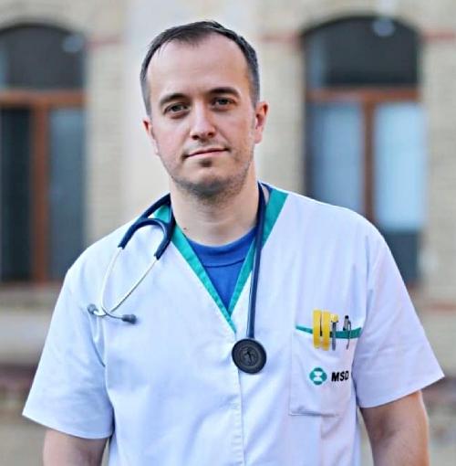 Doctorul Alin Iliescu, medic primar cardiolog în Cluj-Napoca